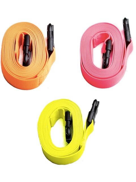Swimrunners Guidance Pull Belt Cord 3-Pack Neon Yellow/Neon Orange/Pink